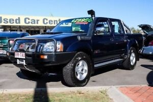 2013 Nissan Navara D22 S5 ST-R Blue 5 Speed Manual Utility