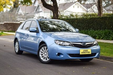 2010 Subaru Impreza G3 MY10 R AWD Blue 4 Speed Sports Automatic Hatchback Medindie Walkerville Area Preview