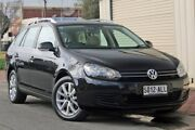 2010 Volkswagen Golf VI MY11 118TSI DSG Comfortline Black 7 Speed Sports Automatic Dual Clutch Wagon Glenelg Holdfast Bay Preview