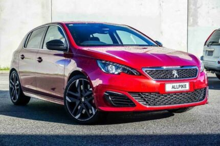 2016 Peugeot 308 T9 MY17 GTI 270 Ultimate Red 6 Speed Manual Hatchback