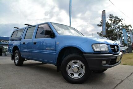 2003 Holden Rodeo TF LX Blue Manual Utility