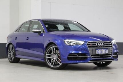 2015 Audi S3 8V MY15 2.0 TFSI Quattro Blue 6 Speed Manual Sedan Bentley Canning Area Preview