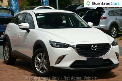 2017 Mazda CX-3 DK4W7A Maxx SKYACTIV-Drive AWD White Pearl 6 Speed Sports Automatic Wagon