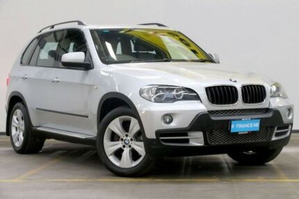 2007 BMW X5 E70 d Steptronic Silver 6 Speed Sports Automatic Wagon