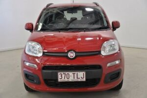 2013 Fiat Panda 150 Easy Dualogic Red 5 Speed Sports Automatic Single Clutch Hatchback