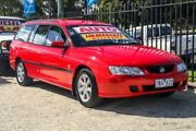 2002 Holden Commodore VY Acclaim Red 4 Speed Automatic Wagon Ringwood East Maroondah Area Preview