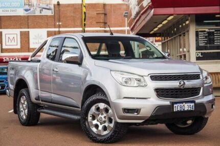 2012 Holden Colorado RG MY13 LTZ Space Cab Silver 6 Speed Sports Automatic Utility