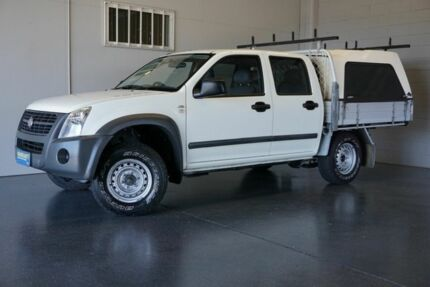 2007 Holden Rodeo RA MY07 LX White 4 Speed Automatic Crew Cab P/Up