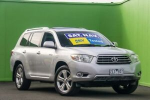 2010 Toyota Kluger GSU45R Grande AWD Silver 5 Speed Sports Automatic Wagon Ringwood East Maroondah Area Preview