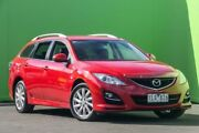 2010 Mazda 6 GH1052 MY10 Classic Red 5 Speed Sports Automatic Wagon Ringwood East Maroondah Area Preview