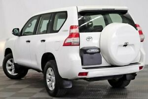 2014 Toyota Landcruiser Prado KDJ150R MY14 GX White 5 Speed Sports Automatic Wagon