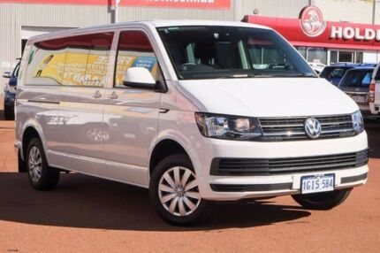 2016 Volkswagen Caravelle T6 MY16 TDI340 LWB DSG White 7 Speed Sports Automatic Dual Clutch Wagon