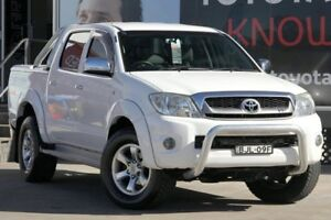 2009 Toyota Hilux GGN25R 08 Upgrade SR5 (4x4) White 5 Speed Automatic Dual Cab Pick-up Old Guildford Fairfield Area Preview