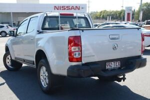 2012 Holden Colorado RG MY13 LT Crew Cab Silver 5 Speed Manual Utility