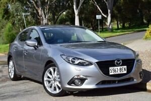 2014 Mazda 3 BM5438 SP25 SKYACTIV-Drive GT Silver 6 Speed Sports Automatic Hatchback St Marys Mitcham Area Preview