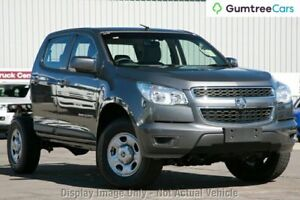 2012 Holden Colorado RG MY13 LX Crew Cab Red 5 Speed Manual Cab Chassis Myaree Melville Area Preview