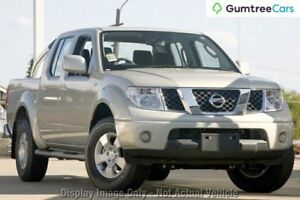 2010 Nissan Navara D40 ST Silver 5 Speed Automatic Utility Myaree Melville Area Preview
