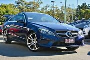 2013 Mercedes-Benz E250 C207 MY13 7G-Tronic + Navy Blue 7 Speed Sports Automatic Coupe Hillcrest Logan Area Preview