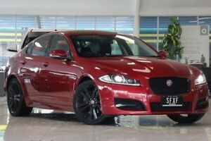 2014 Jaguar XF X250 MY14 Luxury Red 8 Speed Sports Automatic Sedan Dandenong Greater Dandenong Preview