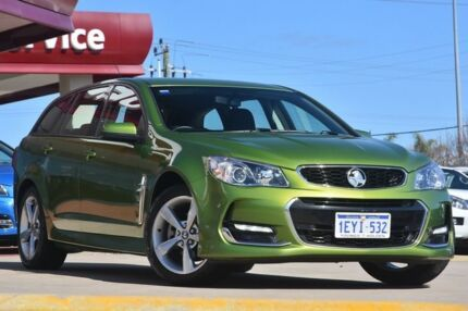 2016 Holden Commodore VF II SV6 Green 6 Speed Automatic Sportswagon Victoria Park Victoria Park Area Preview
