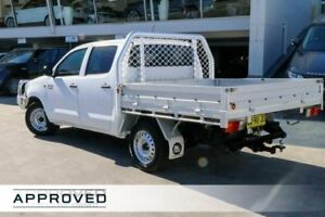 2013 Toyota Hilux KUN16R MY14 SR Double Cab Glacier White 5 Speed Manual Utility Brookvale Manly Area Preview