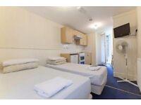 Twin Studio Belsize Avenue £455 per week Short lets