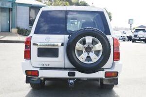 2012 Nissan Patrol Y61 GU 8 ST White 4 Speed Automatic Wagon
