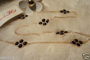 BNWT Alannah Hill Long Necklace Black Pearl Summer 2012 accessories