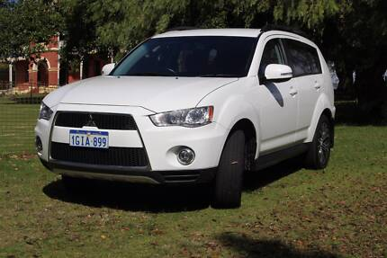 2012 Mitsubishi Outlander Wagon 4x4  XLS Welshpool Canning Area Preview