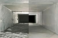 Nettoyage conduit ventilation .Lavage a pression.Chute à dèchet