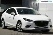 2017 Mazda 3 BN MY17 SP25 GT Snowflake White Pearl 6 Speed Automatic Sedan Liverpool Liverpool Area Preview