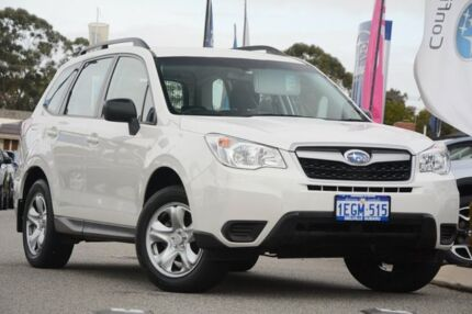 2013 Subaru Forester S4 MY13 2.5i Lineartronic AWD Satin White Pearl 6 Speed Constant Variable Wagon