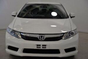 2012 Honda Civic 9th Gen Ser II VTi White 5 Speed Manual Sedan