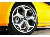 """BRAND NEW 18"""" FORD FOCUS ST ALLOY WHEELS X4 BOXED 5X108 MONDEO CONNECT VAN C-MAX S-MAX BARGAIN"""