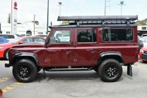 2015 Land Rover Defender 110 15MY Maroon 6 Speed Manual Wagon Claremont Nedlands Area Preview