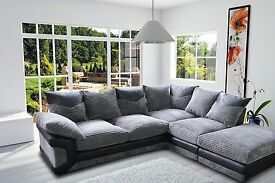 Dino sofa collection, made with luxury jumbo cord, available in 2 shades as a 3+2 set or corner sofa