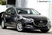2017 Mazda 3 BN5476 Maxx SKYACTIV-MT Jet Black 6 Speed Manual Hatchback West Hindmarsh Charles Sturt Area Preview