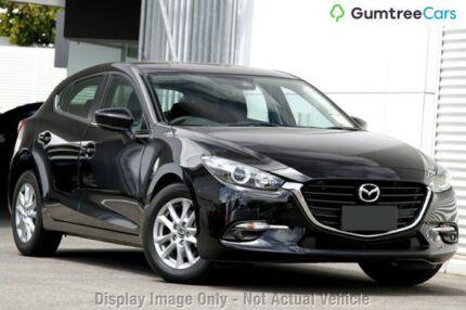 2017 Mazda 3 BN5478 Maxx SKYACTIV-Drive Jet Black 6 Speed Sports Automatic Hatchback West Hindmarsh Charles Sturt Area Preview