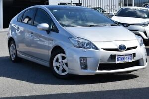 2010 Toyota Prius ZVW30R I-Tech Silver Pearl 1 Speed Constant Variable Liftback Hybrid Claremont Nedlands Area Preview