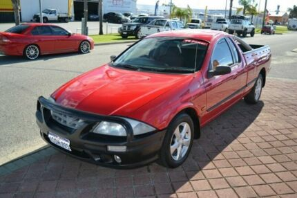 2000 Ford Falcon V8 Power Red 4 Speed Automatic Utility