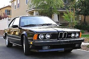 "1987 BMW M6 ""now viewable"""
