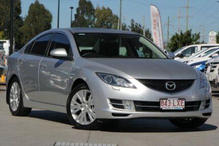 2009 Mazda 6 GH1051 MY09 Luxury Silver 5 Speed Sports Automatic Sedan