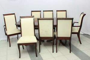 Dining Set with 8 Chairs