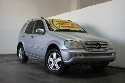 2005 Mercedes-Benz ML W163 350 Special Edition (4x4) Silver 5 Speed Auto Tipshift Wagon