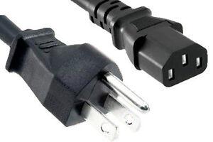 *NEW* C13 to Nema 5-15P power cords (14 & 18 AWG)