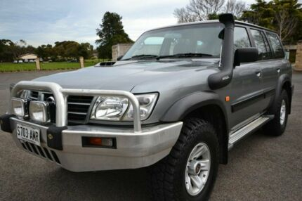 2004 Nissan Patrol GU 3 ST Grey 4 Speed Automatic Wagon Blair Athol Port Adelaide Area Preview
