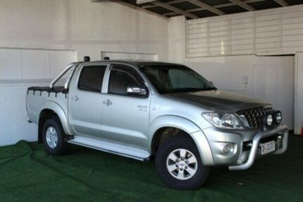 2010 Toyota Hilux GGN25R MY10 SR5 Silver 5 Speed Manual Utility