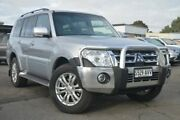2012 Mitsubishi Pajero NW MY13 VR-X Silver 5 Speed Sports Automatic Wagon Hillcrest Port Adelaide Area Preview