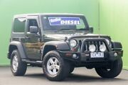 2007 Jeep Wrangler JK Sport Green 6 Speed Manual Softtop Ringwood East Maroondah Area Preview