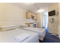Twin Studio sleeps 2 people Belsize Park Short Lets £350 per week
